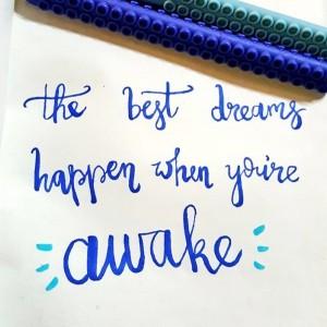 Dream-Lettering