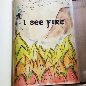 Ed Sheeran I See Fire II