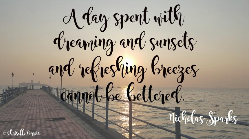 Nicholas Sparks Quote Sunrise