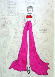 Taylor Swift Grammys Doodle
